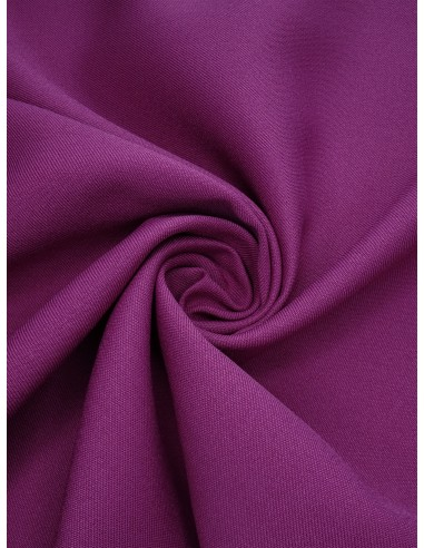 Tissu gabardine polyester - Violet