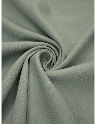 Tissu gabardine polyester - Vert d'eau