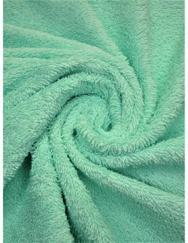 Tissu éponge - Vert d'eau