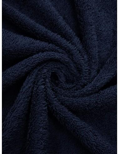 Tissu éponge - Marine