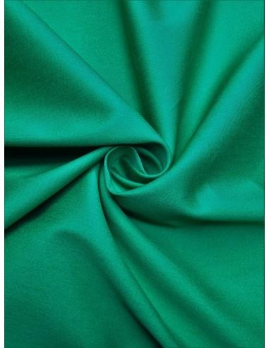 Tissu satin de coton - Vert