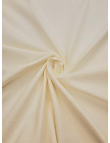Tissu Jersey de coton - Blanc cassé