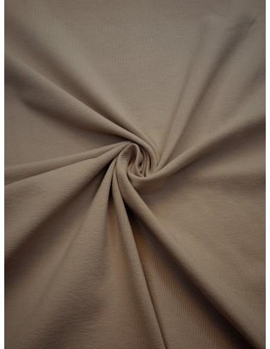 Tissu Jersey de coton - Beige