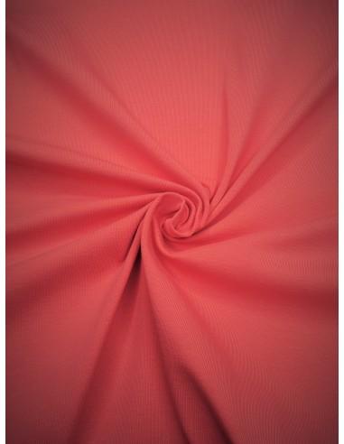 Tissu Jersey de coton - Corail