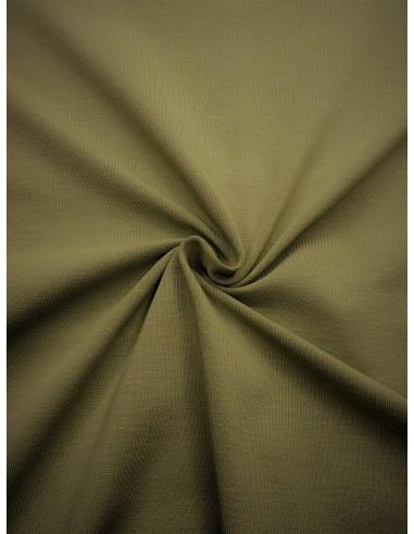 Tissu Jersey de coton - Vert kaki