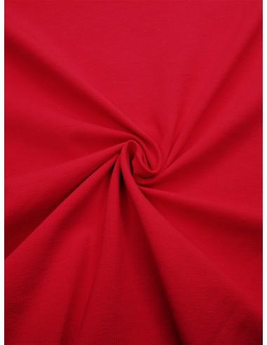 Tissu Jersey de coton - Rouge foncé
