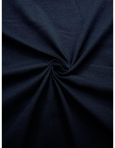 Tissu Jersey de coton - Marine