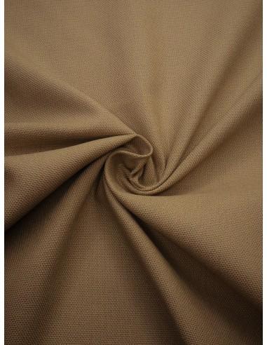 Tissu bachette coton - Beige