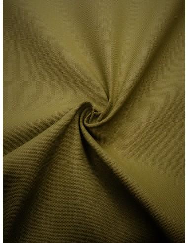 Tissu bachette coton - Vert