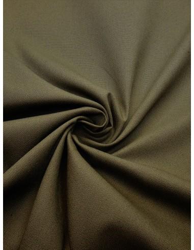 Tissu bachette coton - Kaki