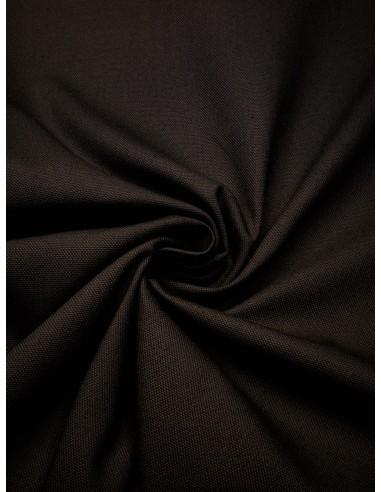 Tissu bachette coton - Gris foncé
