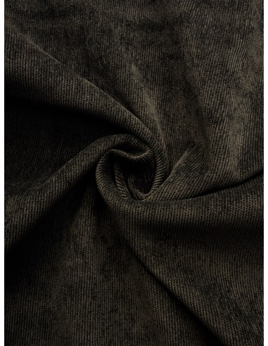 Tissu velours milleraie - Gris