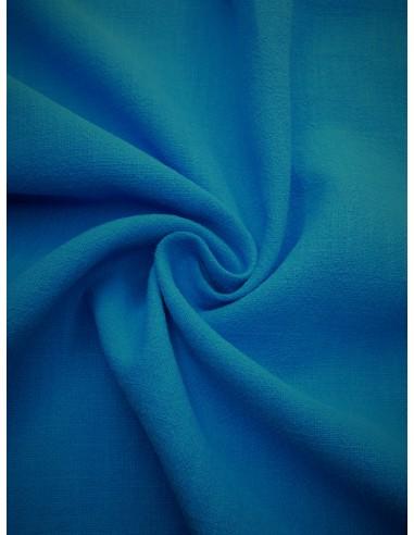 Tissu aspect lin lavé - Bleu
