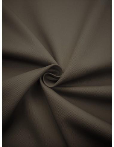 Tissu Gabardine coton - Taupe