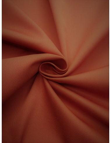 Tissu Gabardine coton - Terra cotta