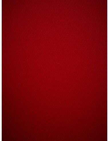 Tissu Gabardine coton - Rouge