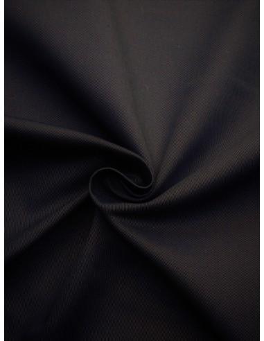 Tissu Gabardine coton - Marine
