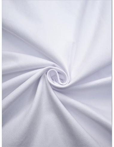 Gabardine - Blanc