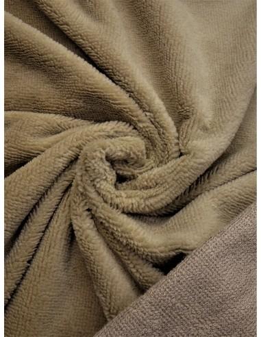 Tissu éponge bambou - Beige