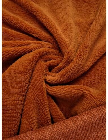 Tissu éponge bambou - Terra cotta