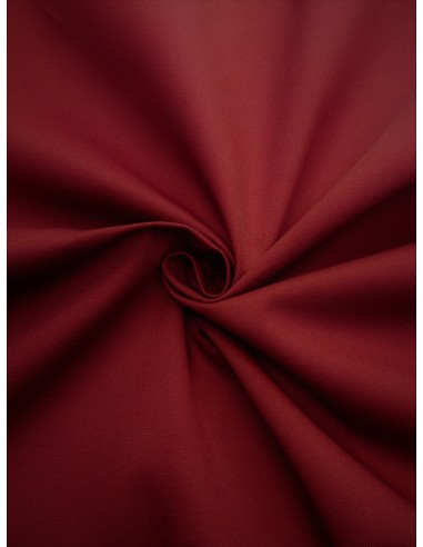 Tissu gabardine polyester/coton -...