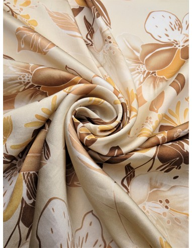 Tissu soie fantaisie