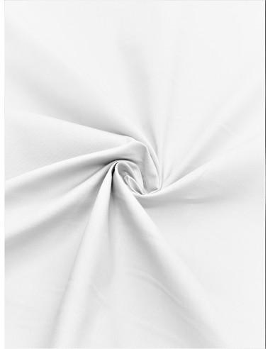 Tissu popeline - Blanc