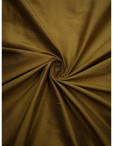 Tissu soie sauvage - Vert